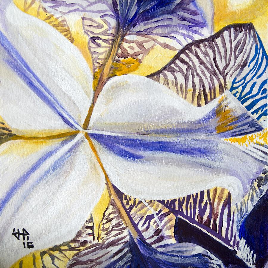 Nébuleuse fleurie