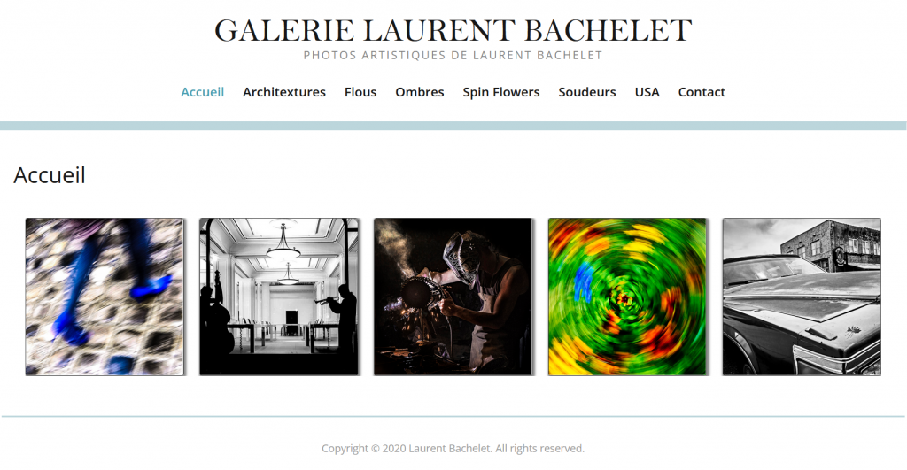 site web laurent bachelet